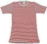 THERMAL BORDER SHORT SLEEVE TEE(サーマルボーダー半袖Tシャツ) (Mサイズ, GR(グレーXレッド))