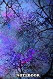 """Notebook: Sky Dreams Serial Blue Forest Dfreams , Journal for Writing, College Ruled Size 6"""" x 9"""", 110 Pages"""