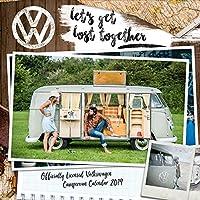 VW Camper Vans Mini Official 2019 Calendar - Mini Wall Calendar Format
