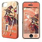 ライセンスエージェント デザジャケットこの素晴らしい世界に祝福を !  iPhone 5/5sケース&保護シート デザイン2 めぐみん DJAN-IPKC-m02