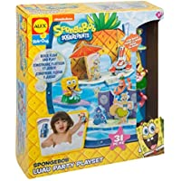 SpongeBob Luau Party Play Set Bath Toy [並行輸入品]