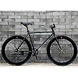 固定速度自転車シングルスピード固定リバースブレーキデッドフライ高炭素鋼フレームカラーアルミニウム合金外輪学生大人乗馬運動