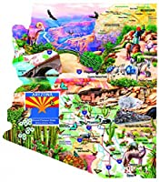 Southwest Travels - A 1000 Piece Shaped Jigsaw Puzzle By SunsOut