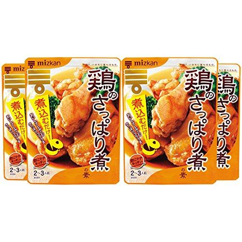 ミツカン 酢こやかキッチン 鶏のさっぱり煮の素 150g×4袋