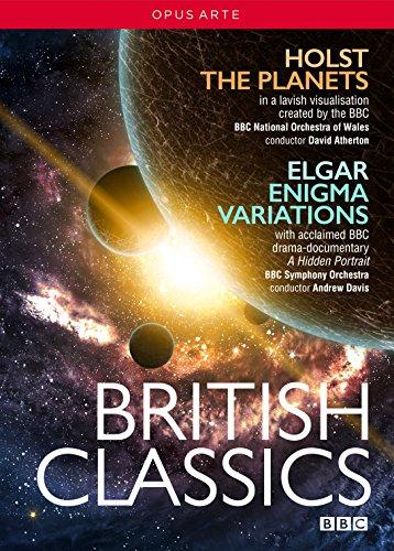 ブリティッシュ・クラシックBOXセット ホルスト:組曲《惑星》/エルガー:《エニグマ変奏曲》[DVD, 2枚組]