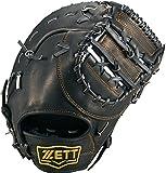 ZETT(ゼット) 野球 軟式 ファースト ミット ウイニングロード (左投げ用) BRFB33613 ブラック