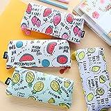 (ウィンコ)Winko HOT TIME 船型 清新 元気果町 ペンケース 超ファッション 筆箱 たっぷり入る 学生用 おしゃれ シンプル 清爽な果物  4種類 レモン