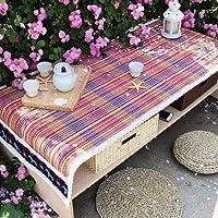 テーブルクロス, ホーム織コーヒーテーブルマット多機能収納コーヒーテーブルクロステーブルクロス厚い布テーブルクロス布 (サイズ : Jinxia(60*150cm))