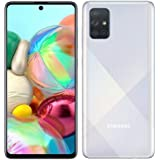 "Samsung Galaxy A71 (128GB, 6GB) 6.7"", 64MP Quad Camera, 25W Fast Charger, Android 10, GSM Unlocked US + Global 4G LTE Interna"