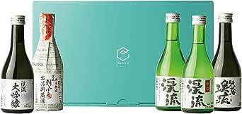 遠藤酒造場 モンドセレクション受賞酒 飲み比べセット 300ml × 5本