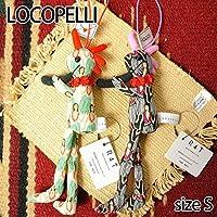 【Locopelli】 ロコペリ フラダンス柄 Sサイズ/ブラック
