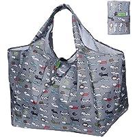 DZTSMART エコバッグ コンビニバッグ折りたたみエコバッグ 買い物袋 レジカゴバッグ 収納 おおきめ 一気ににたためるエコバッグ