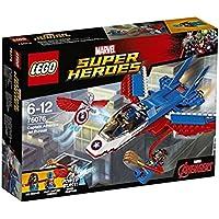レゴ (LEGO) スーパー?ヒーローズ キャプテン?アメリカ: ジェット機での追跡 76076