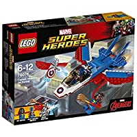 レゴ (LEGO) スーパー・ヒーローズ キャプテン・アメリカ: ジェット機での追跡 76076