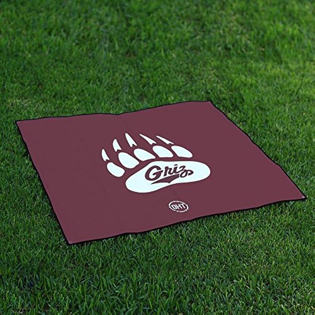 脅威すぐに対応するMontana GrizzliesテールゲートBlanket操作Hat Trick Oht Legacy