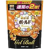 【大容量】ボールド 洗濯洗剤 液体 ぷにぷにっとジェルボール スプラッシュサンシャインの香り 詰替用超特大サイズ 874g (36個入り)