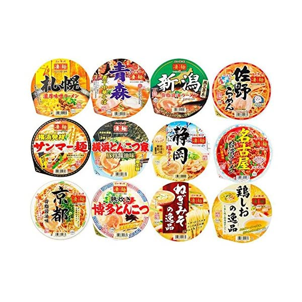 ヤマダイ 凄麺 人気12種類 食べくらべセット ...の商品画像