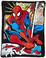 Micro Raschel Throws - Marvel - Spiderman Origins Fleece New 278448