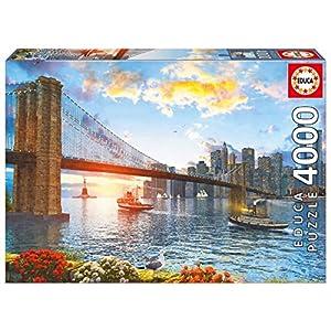 4000ピース ジグソーパズル Educa ブルックリンブリッジ ニューヨーク Brooklyn Bridge, New York 96×136cm 16782