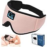 Sleep Headphones-3D Sleep Mask with 5.0 Wireless Blue Tooth Music-Eye Masking Sleeping Headphones for Side Sleepers with Ultr