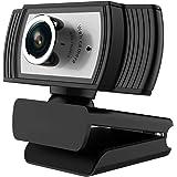 ウェブカメラ Webカメラ フルHD 1080P 30FPS 内蔵マイク ノイズ対策 USBカメラ PCカメラ 会議用 Zoom 対応 在宅勤務 動画配信 ゲーム実況 ビデオ 会議ネット 授業カメラ テレワーク用カメラ Windows XP/7/8/10/ 2000/Mac OS X/Android TV対応