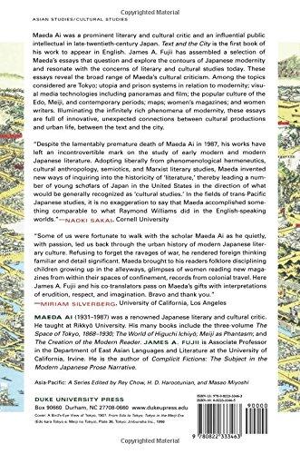 text and the city essays on japanese modernity No es necesario ningún dispositivo kindle descárgate una de las apps de kindle gratuitas para comenzar a leer libros kindle en tu smartphone, tablet u ordenador.