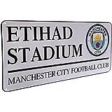 Manchester City F.C - Metal Street Sign (Etihad)