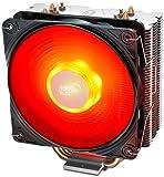 Deepcool Gammaxx 400 V2(赤) cpuクーラー cpuファン Intel/amd両対応 簡易 サイドフロー型