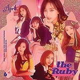 エイプリル - the Ruby (6th Mini Album) CD+Booklet+On Pack Poster+Photocard+Lips Card+Folded Poster [韓国盤]