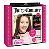 JUICY COUTURE Make It Real - Juicy Couture Chokers & Charms. DIY Choker Jewellery Making Kit for Girls. Design and Create Girls Choker Necklaces with Juicy Couture Charms, Beads, Ribbons, and Chains