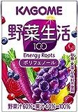 カゴメ 野菜生活100 エナジールーツ 100ml×36本