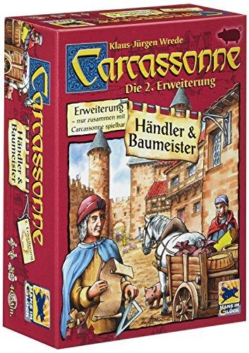 カルカソンヌ拡張セット2 商人と建築士 (Carcassonne: Erweiterung 2: Handler & Baumeister) [並行輸入品] ボードゲーム