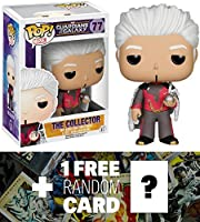 The Collector: Funko POP! x Guardians of the Galaxy Mini Bobble-Head Vinyl Figure + 1 FREE Official Marvel Trading Card