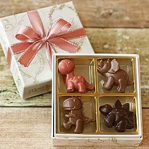 恐竜 チョコレート 詰め合わせ (恐竜・4個入り×1箱) ( いちご ・ ミルク ・ ビター )