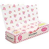 Wax Paper ,Food Picnic Paper,50 sheets Grease Proof Paper ,Waterproof Dry Hamburger Paper Liners Wrapping Tissue for Plastic