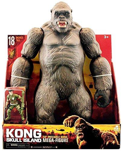 キングコング: 髑髏島の巨神 18インチ メガサイズ ポーザブルフィギュア ...