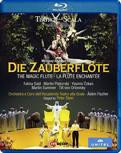 モーツァルト : 歌劇 「魔笛」 全2幕 (Wolfgang Amadeus Mozart : Die Zauberflote / Adam Fischer | Orchestra e Coro dell'Accademia Teatro alla Scala) [Blu-ray] [輸入盤] [日本語帯・解説付]