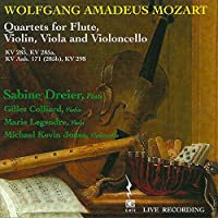 Quartets for Flute Violin Viola & Vilonce