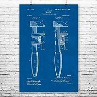 """パイプレンチポスター特許アート印刷 12"""" x 18"""""""
