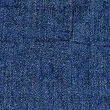 手芸のいとや 生地 ダブルガーゼ デニム風ガーゼ 無地ネイビー 生地幅-約108cm×1m 綿100%
