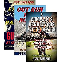 Stone: Bounty Hunter Package # 2: Gunman's Rendezvous with Death, Out Run the Noose, Escape the Hangman: Book # 4,5,6: Western Action and Adventures of Deputy U. S. Marshal and Gunfighter Jake Stone