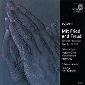 Mit Fried Und Freud / Cantatas Bwv 8 125 & 138