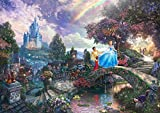 西洋絵画 ディズニー シンデレラ 42x30cm トーマスキンケード Cinderella  [並行輸入品]