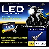 SPHERE LIGHT/スフィアライト 車検対応バイク用LEDコンバージョンキット H1 6000K 1灯 SHBPA060