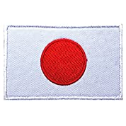 Phoenix Ikki 日本 国旗 日章旗 日の丸 タクティカル ミリタリー 布 刺繍 パッチ ワッペン 腕章 マジックテープ Japanese flag