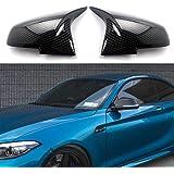Door Mirror Covers Carbon Fiber Side Mirror Covers Caps Rearview for BMW F20 F22 F23 F30 F31 F32 F33 F36 F87 M2 X1 E84