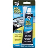 Dap 694 Auto/Marine 100% Silicone Raw building material, 2.8 oz, Clear