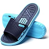 HAOJIALI Bathroom Slippers Shower Shoes Women and Mens Non-Slip Bath Sandals House Soft