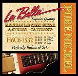 【国内正規品】 La Bella ラベラ HAWAIIAN LAP STEEL GUITAR H6C6-1532 【6-String・C6 tuning】 (15-32) 1set