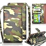 Vandot iPhone SE/ iPhone 5/ iPhone 5S スマホカバー、スリム 薄型 マグネット 開閉 PUレザー 人気 迷彩 デザイン アイフォンse アイフォン5s手帳型ケース